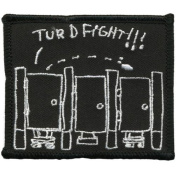 Old Glory - Unisex-adult Turd Fight Patch Black