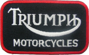 Triumph Motorcycles Biker Racing Team (Su003)logo for Dry Clothing ,Jacket ,Shirt ,Cap Embroidered Iron on Patch ,By Sugar99shop