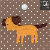 Dog Design Iron on Applique