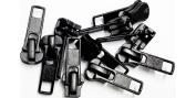 Sale Zipper Repair Kit Universal #5 Moulded Slider - Colour Black