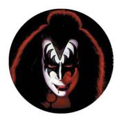 Kiss - Unisex-adult Kiss - Gene Button