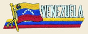 Venezuela Logo Embroidered Iron on or Sew on Patch