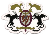Blue Exorcist Academy Crest Sticker