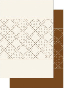 Patchwork Pals Pearl Heavyweight Cardstock 20cm x 29cm 2/Pkg-Half Patch