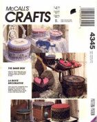 McCall's 4345 Crafts Sewing Pattern Band Box Package