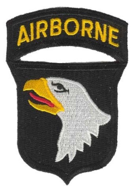 NEW 101st Airborne Division 8.9cm Patch