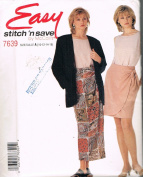 Easy Stitch 'N Save 7639 Sarong Skirt, Top and Jacket