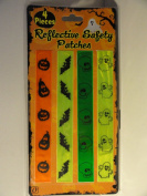 Four Halloween Reflective Safety Patches