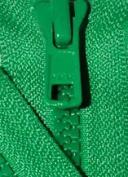 60cm Vislon Zipper ~ YKK #5 Moulded Plastic ~ Separating - 540 Lake Green