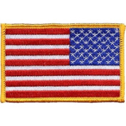 Reverse United States Flag Patch