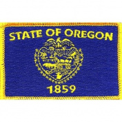 Oregon State Flag Patch