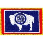 Wyoming State Flag Patch