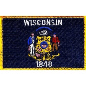 Wisconsin State Flag Patch