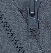 60cm Vislon Zipper ~ YKK #5 Moulded Plastic Sport Zipper ~ Separating - 579 Dark Grey