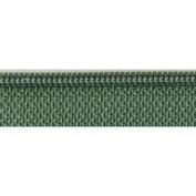 YKK # 3 Nylon Coil Zipper ~ Skirt & Dress 30cm ~ Closed Bottom ~ Olive