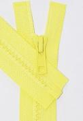 60cm Vislon Zipper ~ YKK #5 Moulded Plastic Sport Zipper ~ Separating - 503 Primrose