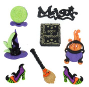 Jesse James - Dress It Up Buttons - Witch's Spell