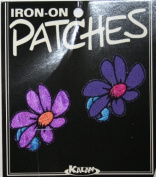 Pair of Dasies Iron On Applique Patch