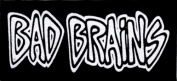 Bad Brains Logo Patch In Black