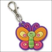 SJ Zipper Pull - Butterfly
