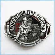 Brand:choi Western Volunteer Fire Fighter Fireman 3d Enamelled Oc-009