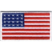 Flag of USA/Stars N Stripes Iron On Patch