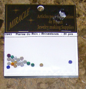 Rhinestones Multi Colour 20 Pieces Arts & Crafts