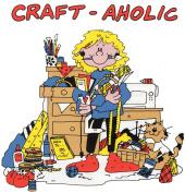 Craft-aholic Humorous Iron-on Transfer
