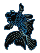 Goldfish Fish DIY Embroidered Sew Iron on Patch
