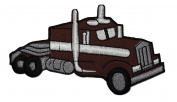Brown Tow Truck DIY Applique Embroidered Sew Iron on Patch