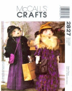 McCall's 2827 Sewing Pattern Crafts Shopper Doll