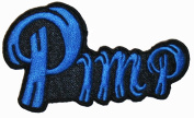 Pimp Name Tag Iron On Patch