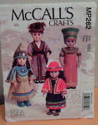 McCall's Crafts MP262 Pattern for 46cm Doll Clothes