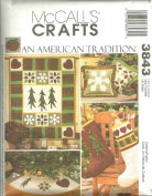 Holiday Quilting McCall's Crafts Pattern 3843
