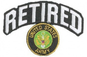 Army Retired Patch - w/logo