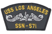 USS Los Angeles SSN-571 Patch