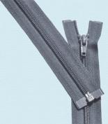 90cm Light Weight Jacket Zipper ~ YKK #5 Nylon Coil Separating Zippers - 579 Dark Grey