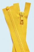 90cm Vislon Zipper YKK #5 Moulded Plastic ~ Separating Bottom ~ 506 Buttercup