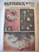 VICTORIAN CHRISTMAS! CRAFT PATTERN FROM BUTTERICK #4013 MULTIPLE PROJECTS