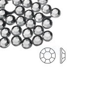 1000pcs Clear Grey Round 2x2x1 Flat Back Rhinestones Flatback acrylic Gems for Nail Art Cards wholesale SS6 AF0002-1