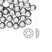 1000pcs White Round 2x2x1 Flat Back Rhinestones Flatback acrylic Gems for Nail Art Cards wholesale SS6 AF0002-2