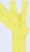 90cm Vislon Zipper ~ YKK #5 Moulded Plastic ~ Separating - 503 Yellow