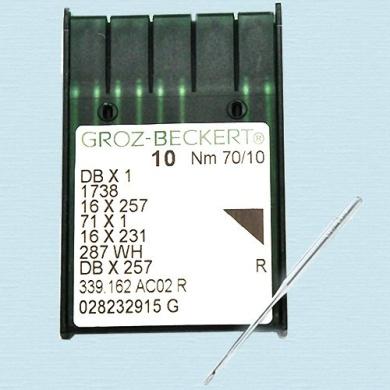 Groz-Beckert GB 16X231 ~ Nm 70/10 (Pack of 10 Needles)