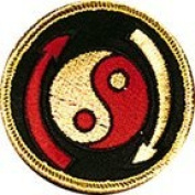 Jeet Kune Do Yin Yang 7.6cm Patch