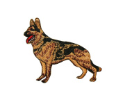 ID #2763 German Shepherd Dog Puppy Breed Embroidered Iron On Applique Patch
