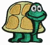 Z048 Turtle Iron On Applique Patch