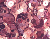 8mm CUP SEQUINS Pink. Loose sequins for embroidery, applique, arts, crafts and embellishment.