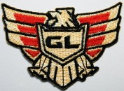 Us Army patch goldwing Patches 8.3x5.5 cm Embroidered iron/sew on Patch to Cloth, Jacket, Jean, Cap, T-shirt and Etc.