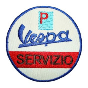 VESPA Servizio Scooters Moped Retro Motorcycles logo apparel BV06 Patches