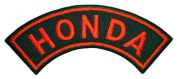 Honda Motorcycles Vintage Biker Red Curve Label Jackets BH12 Patches
